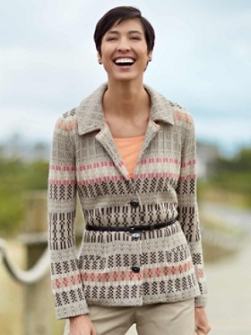 Sweater Knit Jacket