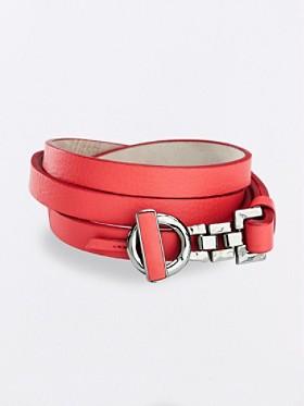 Signature Clasp Skinny Belt