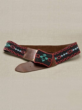 Tribal Beaded Belt
