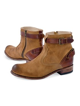 Birch Buckle Booties