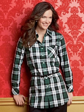 Tartan Shaped Tunic