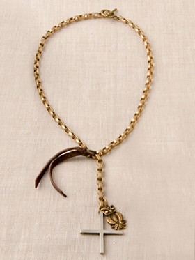 Chain Rosary With Owl