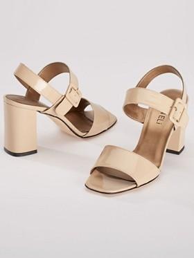 Trine Patent Heels