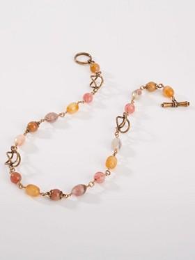 Rose Carnelian Necklace