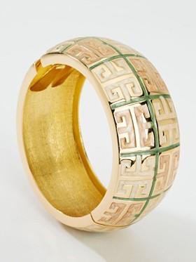 Gold-plated Greek Bracelet
