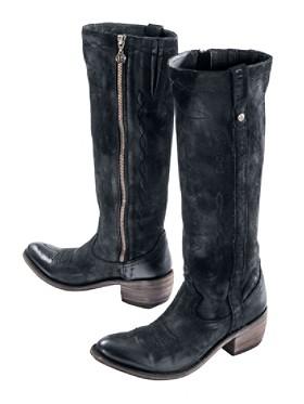 Nubuck Gris Boots