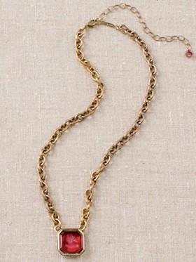 Carnelian Intaglio Necklace