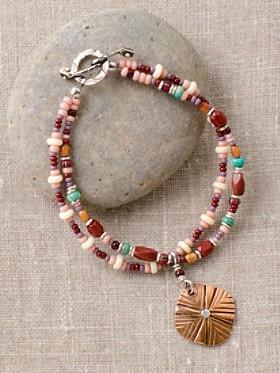 Copper Crossroads Bracelet