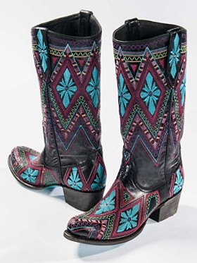 Sunshine Embroidered Boots