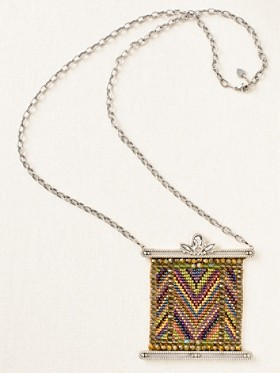 Beaded Blanket Necklace