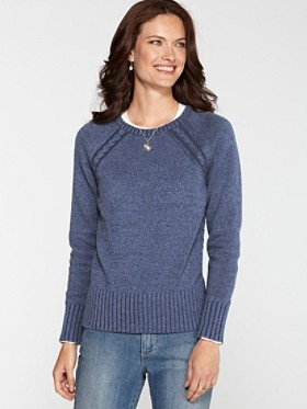 Cottonwood Cable Pullover