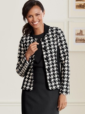 Davis Houndstooth Jacket
