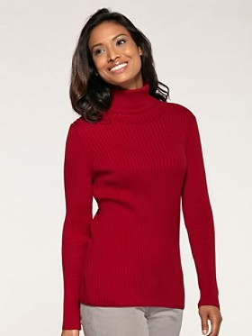 Rhonda Ribbed Turtleneck