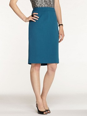 Ultra 9 Stretch Twill Pencil Skirt