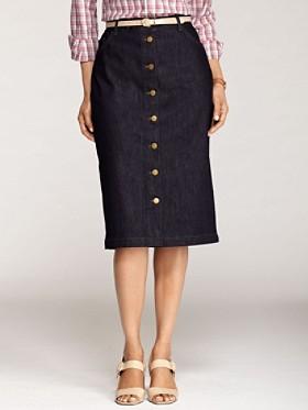 Roper Denim Skirt