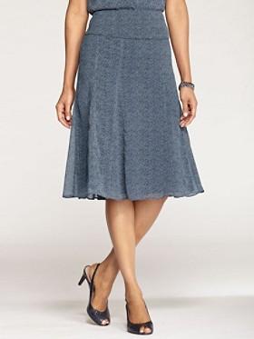 Geo Circles Isabella Skirt