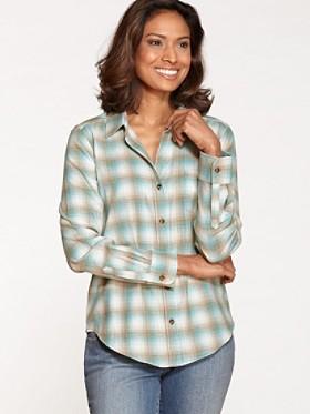 Felicia Plaid Flannel Shirt
