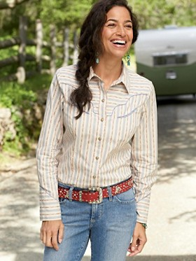 Amarillo Stripe Shirt