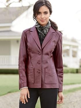 Olivia Leather Jacket