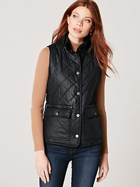 Quilted Snap Vest
