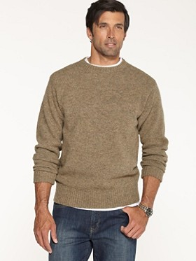 Shetland Washable Wool Crewneck
