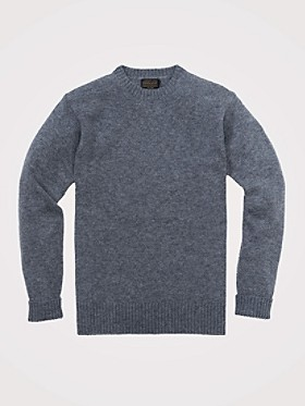 Shetland Washable Wool Crewneck