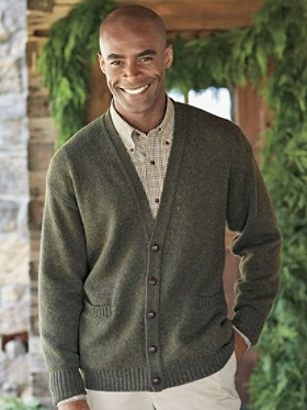 Shetland Washable Wool Cardigan
