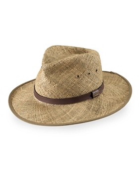 Packable Straw Outback Hat