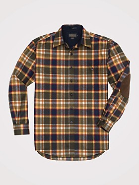 Fitted Lodge Shirt