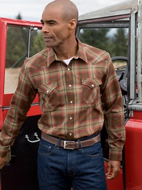 Fitted Worsted Wool Epic Shirt