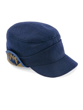 Wool Tank Cap With Flaps