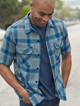 Short-sleeve Fitted Board Shirt