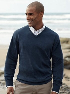 High Vee-neck Sweater