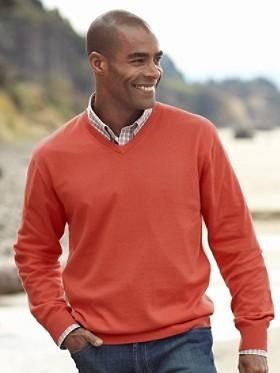 High Vee-neck Sweater