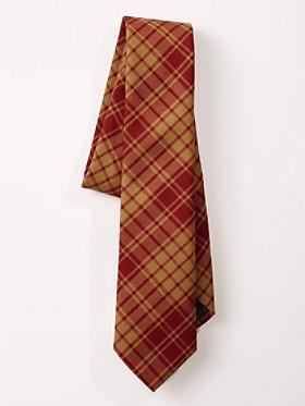 Plaid Wool Necktie