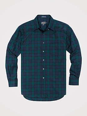 Fitted Sir Pendleton Wool Shirt