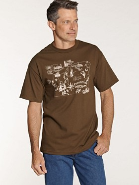 Oregon Coffee Graphic Tee