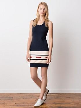 Camp Stripe Knit Dress