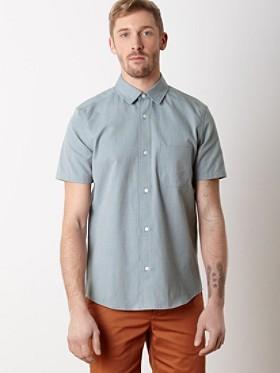 Yachats Cotton Short-sleeve Shirt