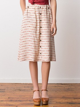Mckenzie Bridge Silk Skirt