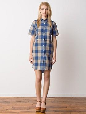 Scout Lake Check Shirt Dress