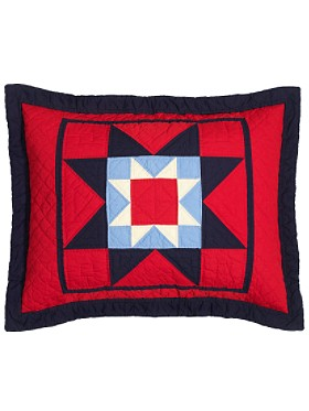Plains Star Quilt Sham