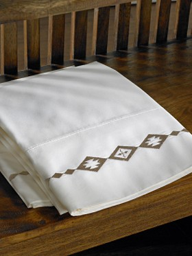 Santa Fe Embroidered Pillowcases