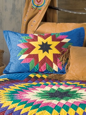 Diamond Ranch Quilt Sham