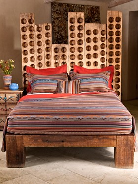 Adobe Canyon Bedspread