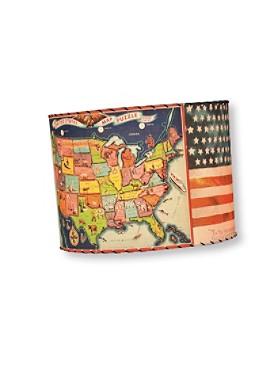 Handmade Americana Lamp Shade