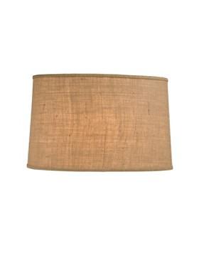 Handmade Burlap Lamp Shade