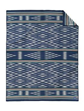 Taos Ikat Blanket