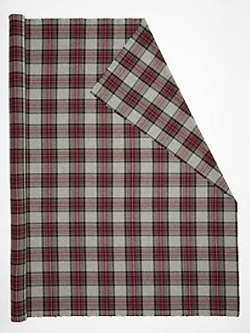 Grey Stewart Tartan Fabric