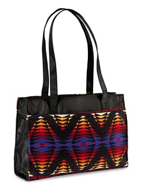 Jacquard Commuter Tote